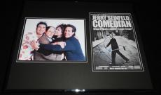 Jerry Seinfeld Signed Framed 16x20 Photo Set