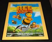 Jerry Seinfeld Signed Framed 32x39 Bee Movie Poster JSA