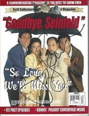 Jerry Seinfeld Signed Goodbye, Seinfeld Magazine JSA COA