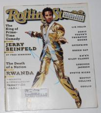 JERRY SEINFELD signed (ROLLING STONE) MAGAZINE *KING OF COMEDY* W/COA