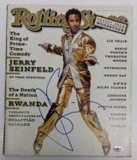 Jerry Seinfeld Signed Rolling Stone Magazine PSA AB74219