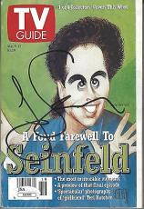 Jerry Seinfeld Signed TV Guide JSA COA