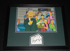 Jerry Springer Signed Framed 11x14 Photo Display The Simpsons