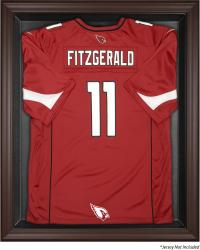 Arizonz Cardinals Framed Logo Jersey Display Case - Brown - Mounted Memories