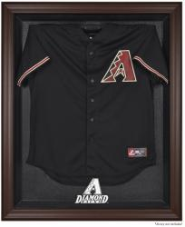 Arizona Diamondbacks Brown Framed Wordmark Jersey Display Case  - Mounted Memories