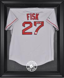 Boston Red Sox Black Framed Logo Jersey Display Case - - Mounted Memories