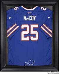 Buffalo Bills Frame Jersey Display Case - Black - Mounted Memories