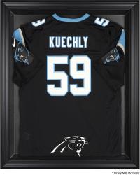 Carolina Panthers Frame Jersey Display Case - Black