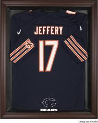 Chicago Bears Framed Logo Jersey Display Case - Brown