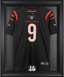 Cincinnati Bengals Frame Jersey Display Case - Black - Mounted Memories