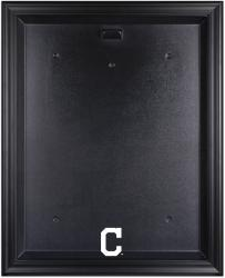 Cleveland Indians Black Framed Logo Jersey Display Case