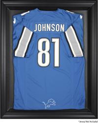 Detroit Lions Black Frame Jersey Display Case