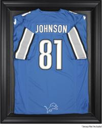 Detroit Lions Black Frame Jersey Display Case