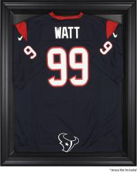 Houston Texans Black Frame Jersey Display Case - Mounted Memories