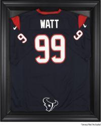 Houston Texans Black Frame Jersey Display Case