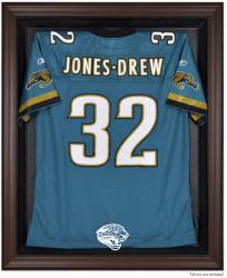 Jacksonville Jaguars Brown Framed Logo Jersey Display Case