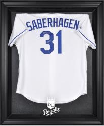 Kansas City Royals Black Framed Logo Jersey Display Case - Mounted Memories