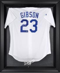 Los Angeles Dodgers Black Framed Logo Jersey Display Case