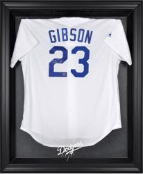 Los Angeles Dodgers Black Framed Logo Jersey Display Case