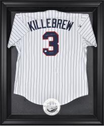 Minnesota Twins Black Framed Logo Jersey Display Case - Mounted Memories