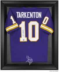 Minnesota Vikings Black Frame Jersey Display Case - Mounted Memories