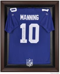 NFL Brown Framed Logo Jersey Display Case