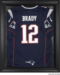 New England Patriots Black Frame Jersey Display Case