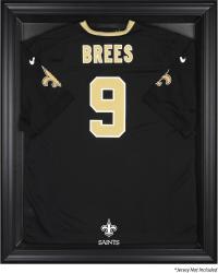 New Orleans Saints Black Frame Jersey Display Case