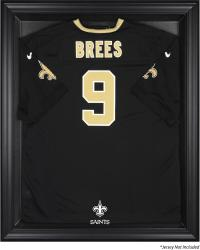 New Orleans Saints Black Frame Jersey Display Case
