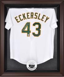 Oakland Athletics Brown Framed Logo Jersey Display Case