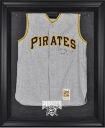 Pittsburgh Pirates Black Framed Logo Jersey Display Case - Mounted Memories