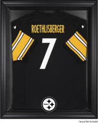 Pittsburgh Steelers Black Frame Jersey Display Case - Mounted Memories