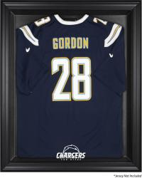 San Diego Chargers Black Frame Jersey Display Case