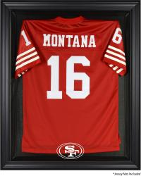 San Francisco 49ers Black Frame Jersey Display Case - Mounted Memories