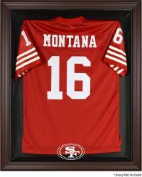 San Francisco 49ers Brown Framed Jersey Case