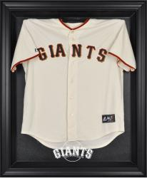 San Francisco Giants Black Framed Logo Jersey Display Case - Mounted Memories