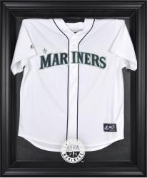 Seattle Mariners Black Framed Logo Jersey Display Case - Mounted Memories