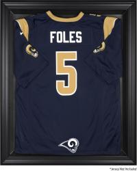 St. Louis Rams Black Frame Jersey Display Case