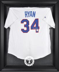Texas Rangers Black Framed Logo Jersey Display Case - Mounted Memories