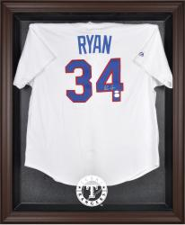 Texas Rangers Brown Framed Logo Jersey Display Case