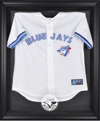 Toronto Blue Jays Black Framed Logo Jersey Display Case - Mounted Memories