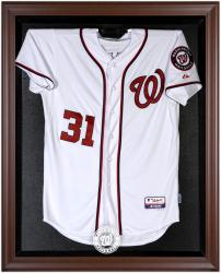 Washington Nationals Brown Framed Logo Jersey Display Case