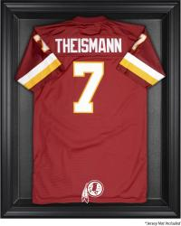 Washington Redskins Black Frame Jersey Display Case - Mounted Memories