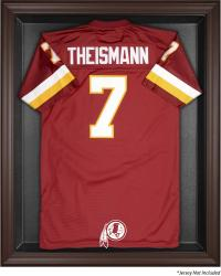 Washington Redskins Brown Framed Logo Jersey Display Case