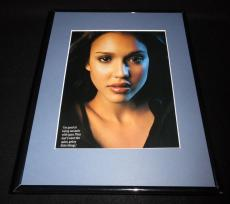 Jessica Alba 2000 Dark Angel Framed 11x14 Photo Display C
