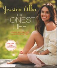 Jessica Alba Autographed The Honest Life Signed Book AFTAL