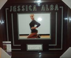 Jessica Alba Movie Star Sexy Jsa Coa Signed Auto Photo Double Matted & Framed B