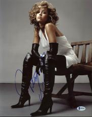 Jessica Alba Sexy Signed 11X14 Photo Autographed BAS #B18430