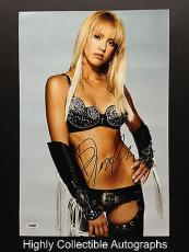 Jessica Alba Signed 12x18 Photo Autograph Psa Dna Coa Sin City