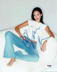 Jessica Alba Signed Authentic Autographed 8x10 Photo PSA/DNA #W98099